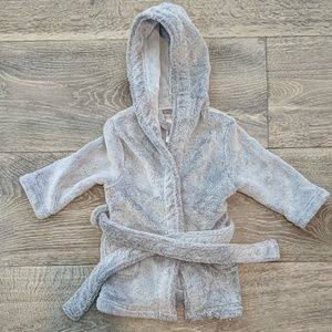 Restoration Hardware Baby Gray Robe